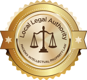 Badge for Phoenix Intellectual Property Attorney